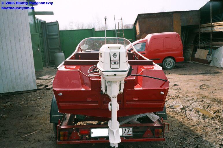 реставрация лодок и катеров
