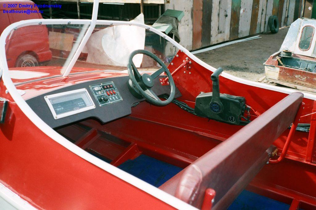 Приборная панель катера своими руками 80